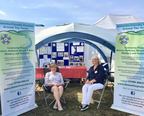 DFPY Stand at Yealmpton Show